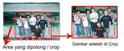 Cara memotong foto menggunakan Crop Tool di Photoshop