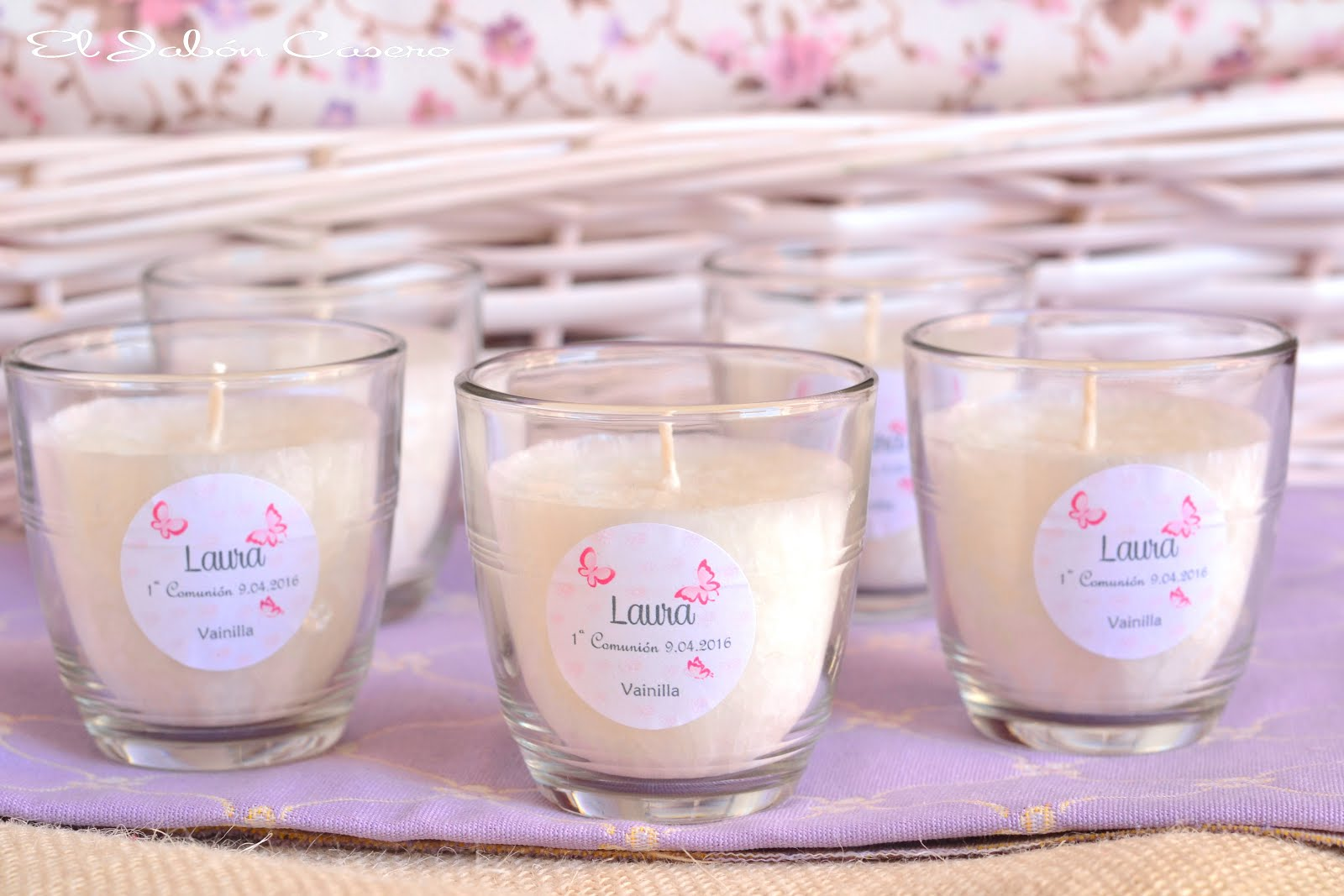 El jab n casero detalles para invitados velas aromaticas - Velas perfumadas ...