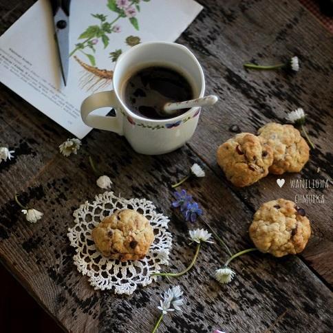 Ciastka czekoladowo-orzechowe