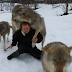 Watch How These Powerful Wolves Greet a Woman They Haven't Seen in 2 Months