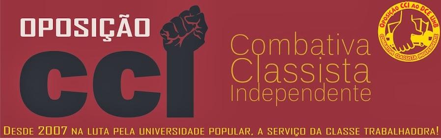 Oposição Combativa, Classista e Independente