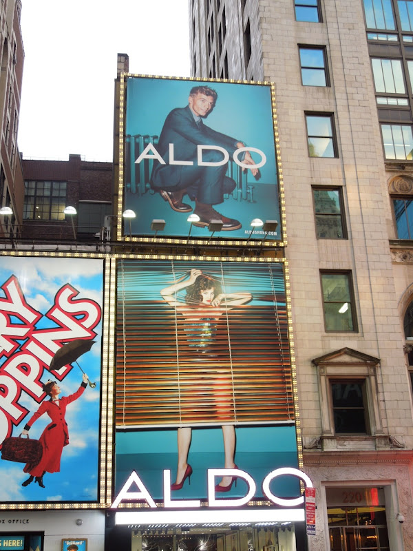 Aldo Shoes FW 2012 billboards NYC