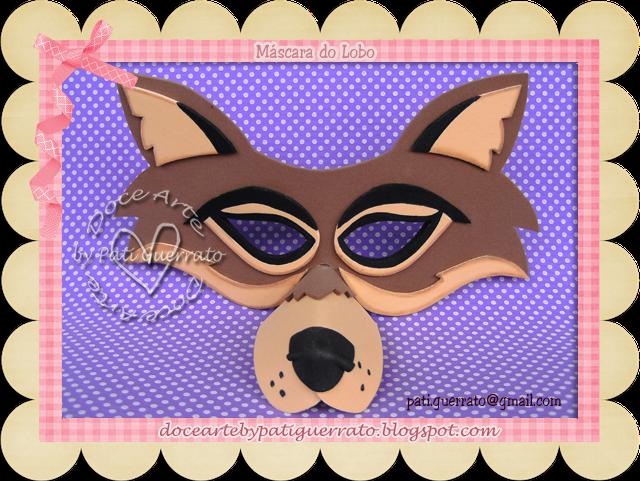 Como hacer una mascaras de lobo - Imagui