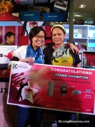 ElectroluxPH Wokaholic Grand Winner Rigette Osoteo