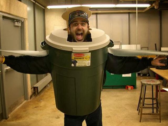 Disfraz de cubo de basura disfraces originales - Cubos de basura originales ...