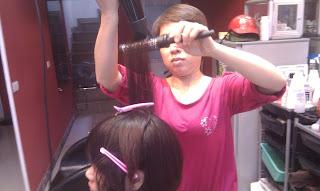 dạy sấy tạo kiểu tóc