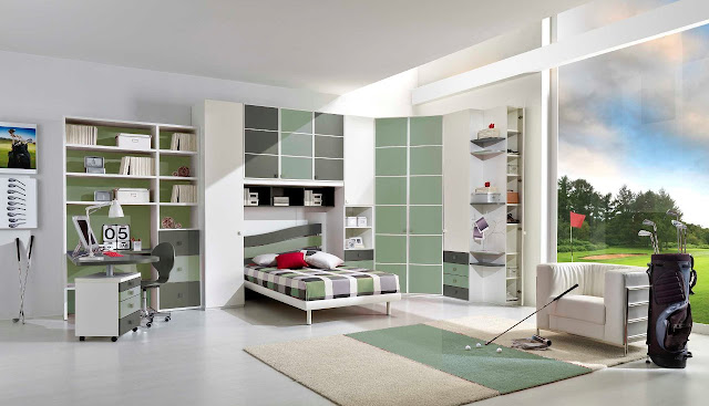 Idee Chambre Garcon 10 Ans : Rideau Chambre Ado Garà§on  chambre ado garcon design idées déco
