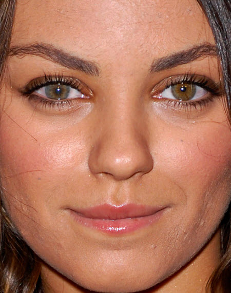 Mila Kunis Close Up