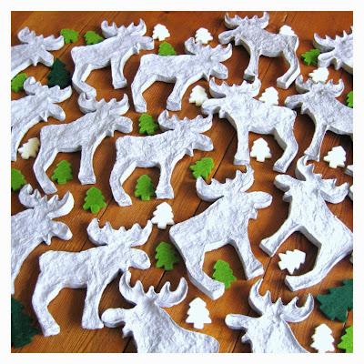 paper reindeer