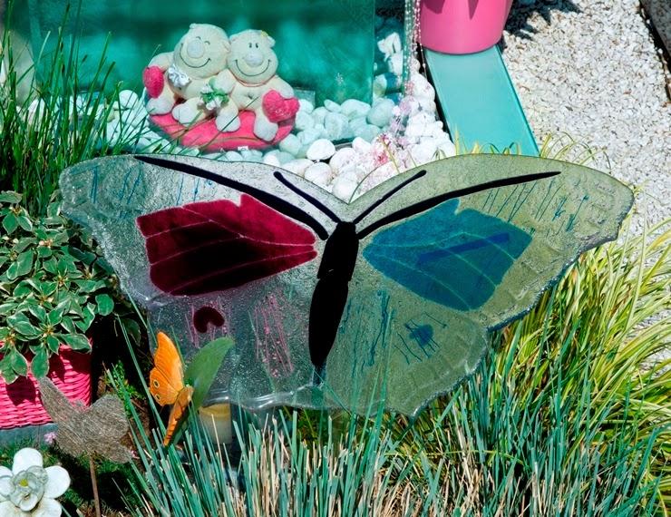 glazen vlinder, vlinder van glas