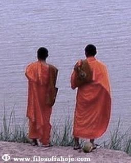 monge ceu nuvem montanha