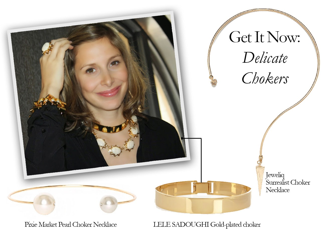 Get It Now: Delicate Chokers