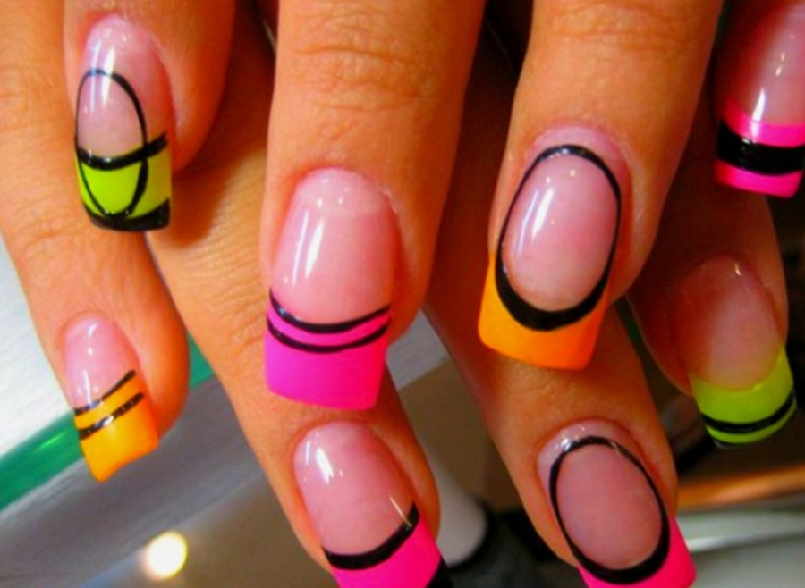 Colorfull Nails Designs