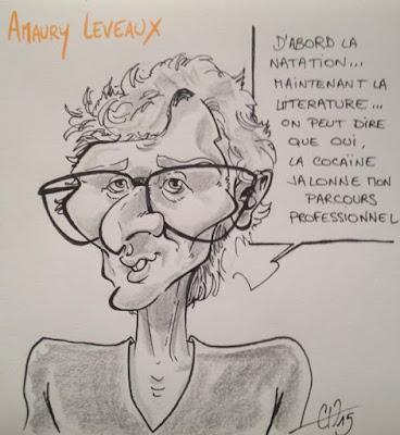 Caricature Amaury Leveaux - Guillaume Néel ©