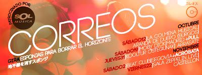 Correos Grupo banda GIRA 2013