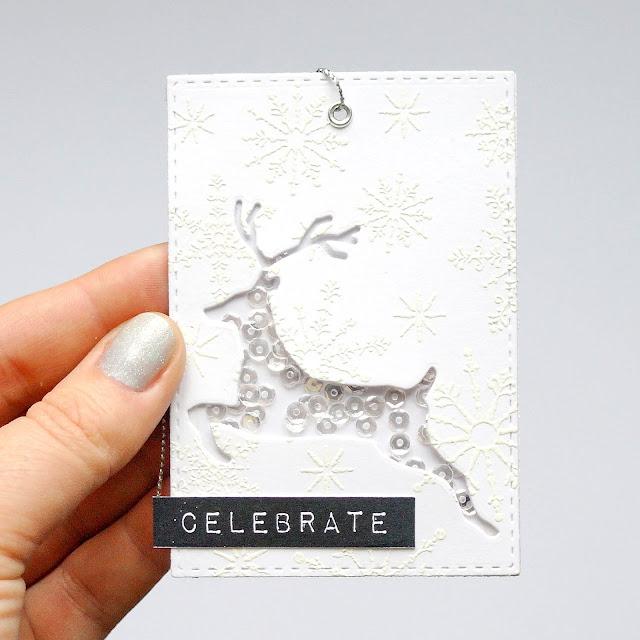 Sparkling reindeer