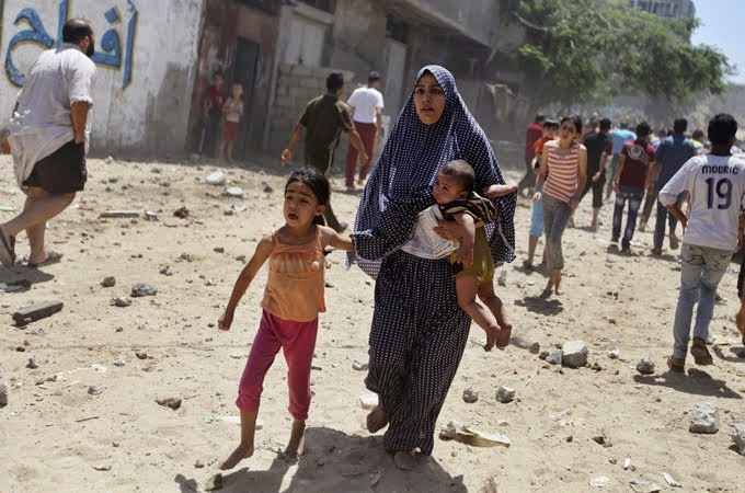 GUERRA NA FAIXA DE GAZA