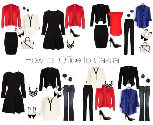 office wardrobe ideas. How To: Office To Casual Wardrobe Ideas