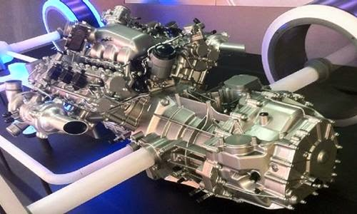 2016 Acura NSX Hybrid Engine and Performance