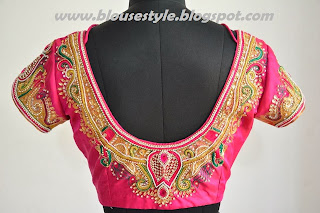 latest traditional designer blouse