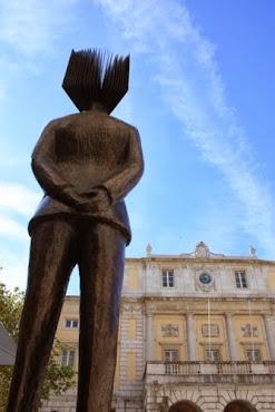 """Participei na Maratona Fotográfica FNAC Lisboa 2013 – """"O Escritor e a Cidade"""" com 7 temas e pontos."""