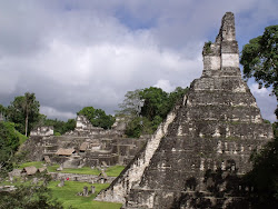 Tikal 瑪雅金字塔