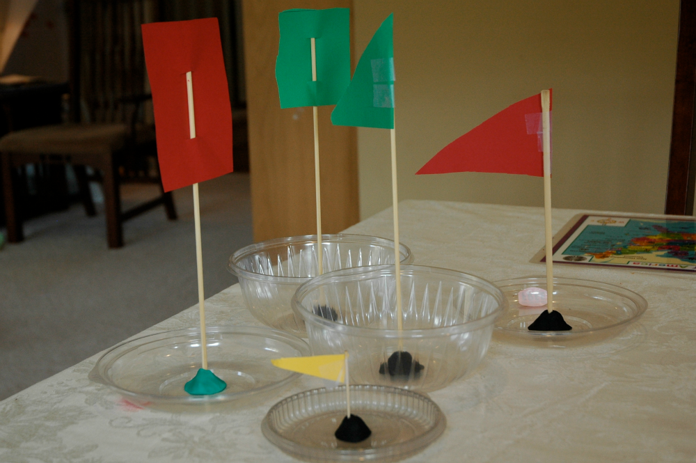 boats made from recyclable materials, for weekly home preschool transportation theme
