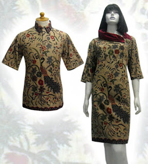 baju dress batik terbaru