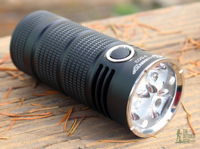 Lumintop PS03 4x18650 Flashlight - Product View 3