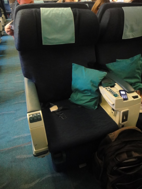 cathay pacific business class. like the Business Class