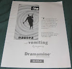 1950 ad for Dramamine for pregnancy
