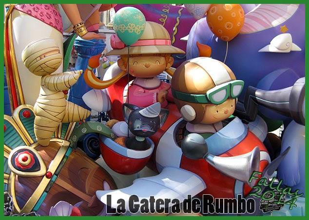Falla Infantil Plaza del Mercado