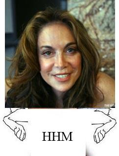 Birther Pamela Geller, today's Happy Hopping Moron