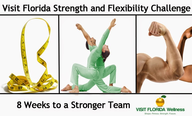 Visit Florida Strength and Flexibility Challenge