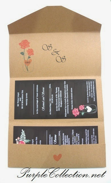 Wedding Invitation Card, Printing, rustic, vintage, garden, theme, malaysia, lace, white, kraft card, vintage, theme, design, handmade, hand crafted, personalised, personalized, bespoke, chalk board background, rose, flower, Chinese card, modern, unique, special, custom, Singapore, penang, perak, ipoh, melaka, pahang, kuantan, pahang, johor bahru, sabah, sarawak, bintulu, miri, sandakan, tawau, kuching, perlis, kedah, kelantan