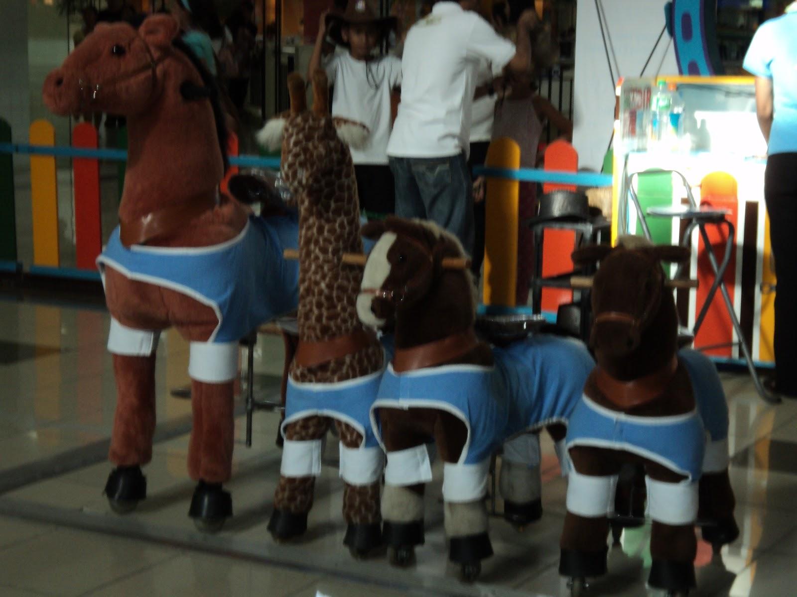stuffed horses