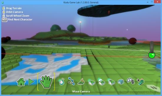 Membuat Game 3D Dengan Kodu Game Lab 3