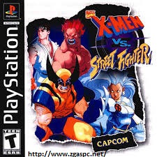 Free Download Games X-MEN VS Street Fighter PSX ISO Untuk KOmputer Full Version ZGASPC