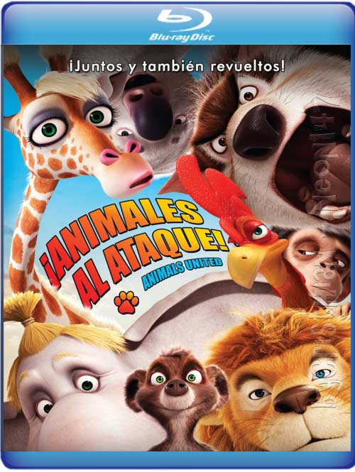 Animales Al Ataque (Español Latino) (BRrip) (Audio AC3) (2011)