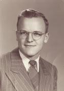 PHOTO: Paul's high school faculty portrait, 1950.