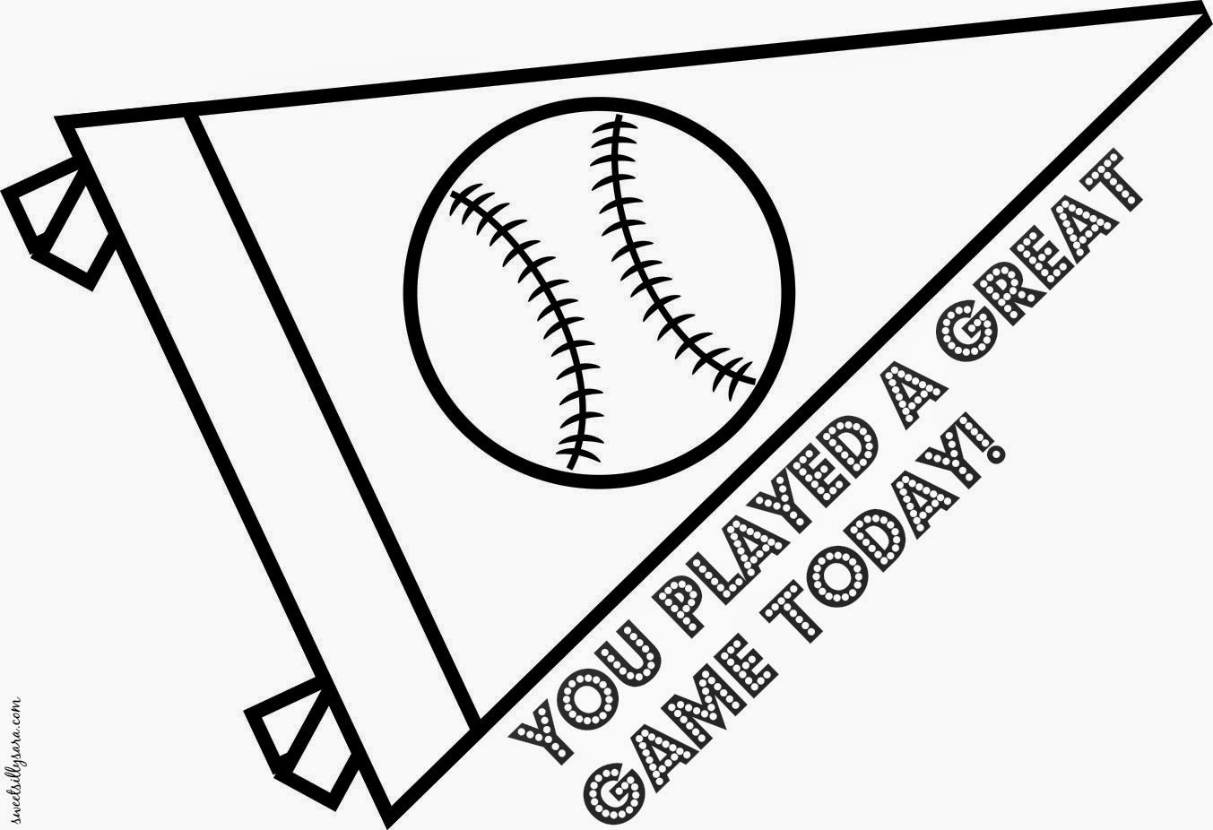 if you have little ones on a baseball team print this for when it is your turn to offer a snack after the game what kid doesnt like a fun coloring page