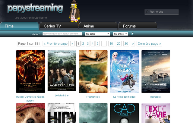 Papstream vos films et séries en streaming gratuit vf et
