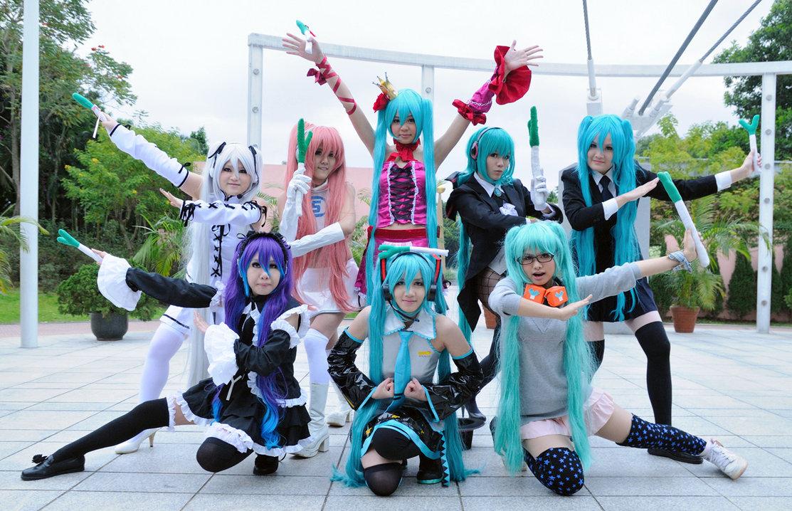 Cosplay Vocaloid