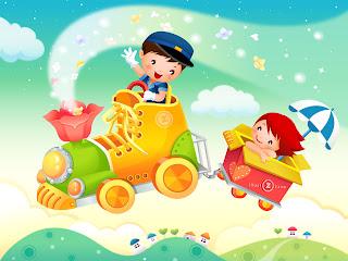 Cartoon free desktop wallpaper 0003