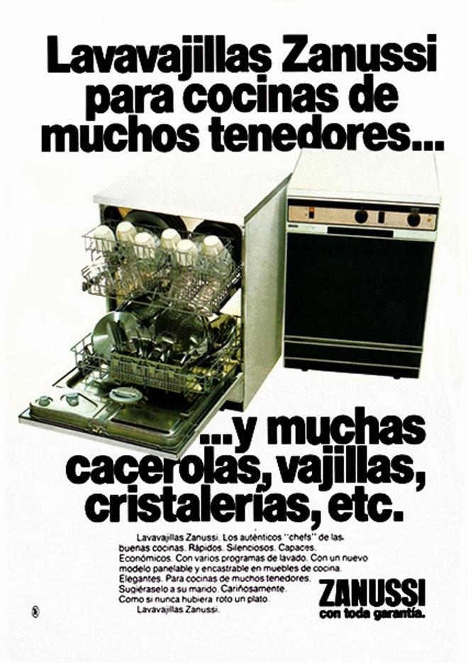 Zanussi Publicidad de los años 80
