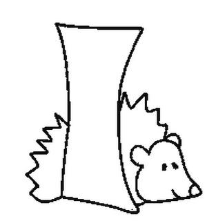 Abecedario de Animales Letra I Para Colorear  Dibujos para