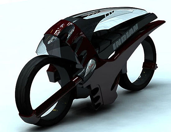 Dan Bailey Future Tron Inspired Motorcycle