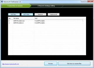 Free Download Mytoolsoft FileRenamer 1.0.0 with Keygen Full Version