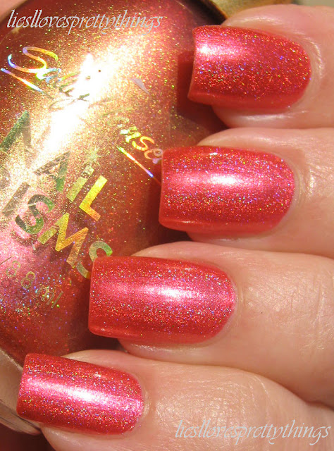 Sally Hansen Nail Prisms Coral Amber