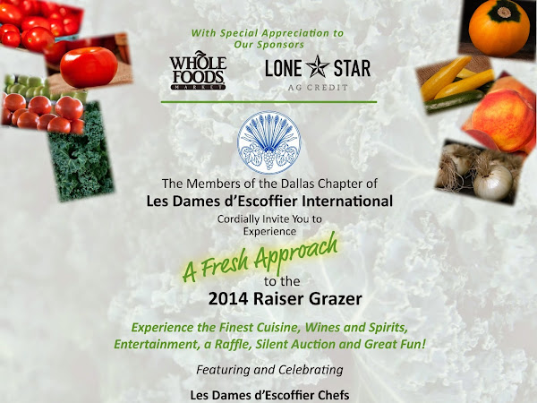 The Les Dames d-Escoffier Dallas Raiser Grazer is Less Than 2 Weeks Away!